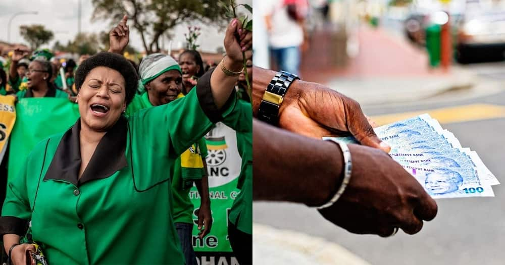 ANC, no salaries, no campaigning, in millions of rands of debt