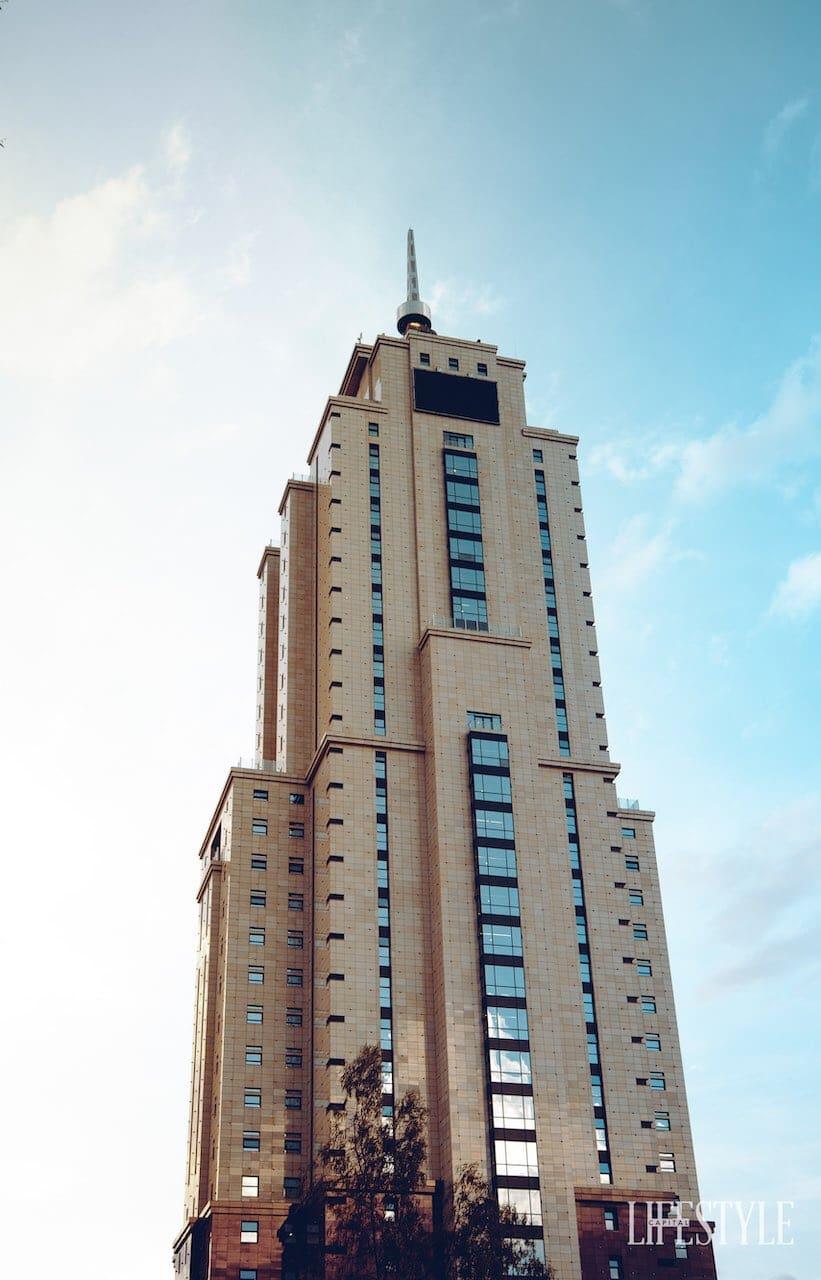 Tallest buildings in Eastern Africa