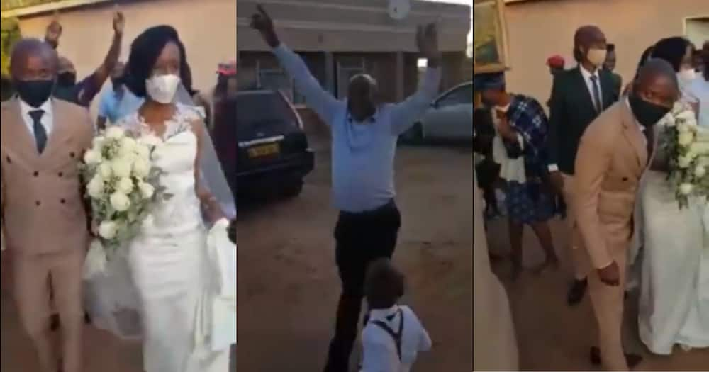 Hilarious Madala Leaves Mzansi in Stiches After Pranking Wedding Party