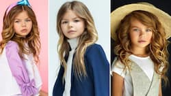 Adorable little model, 6, dubbed the cutest girl in the world