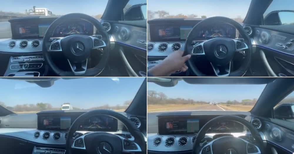 Car, Self-driving, video, Mzansi, shock, Social media reactions