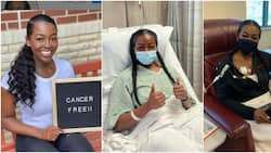 Stunning young lady celebrates beating blood cancer, shares photos to inspire many