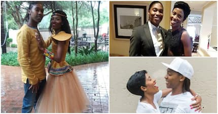 Caster Semenya and wife, Violet, celebrate their wedding anniversary