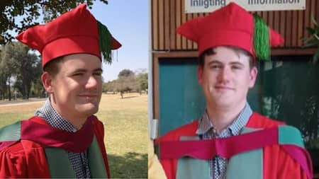 Researcher and meteorology student's master's thesis upgraded to a PhD
