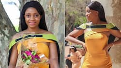 """""""Beauty with brains"""": Stunning lady graduates with a degree in BCom accounting after 18 months"""