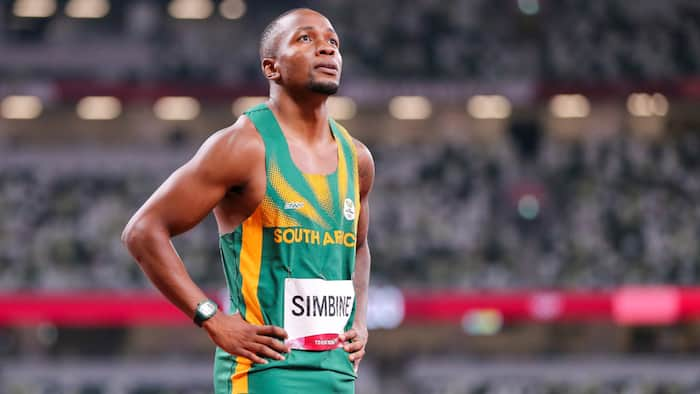 Akani Simbine heartbroken over losing out on a medal at the Tokyo Olympics