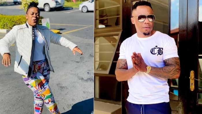 You go girl: Zodwa Wabantu shares why she 'dumped' former boss DJ Tira