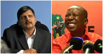 Friends or foes? Atul Gupta retweets EFF and twitter has questions