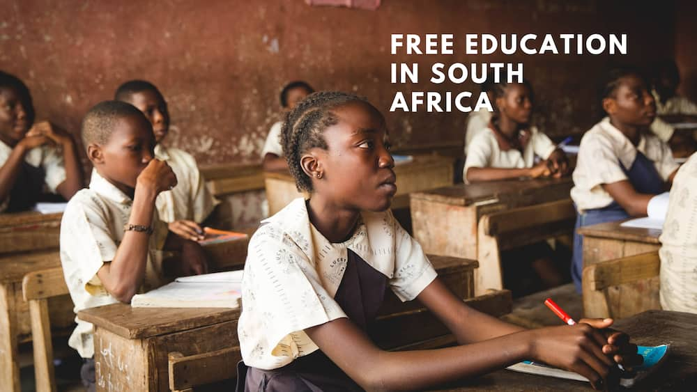 How to get free education in south africa in 2019?