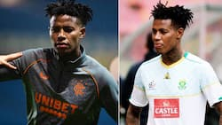 Bongani Zungu posts a saucy snap dressed in Gucci and fans start speculating