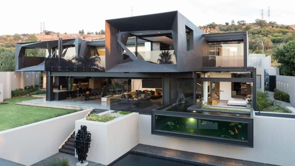 Top 10 beautiful houses in South Africa best houses in south africa beautiful south african houses double storey houses in south africa