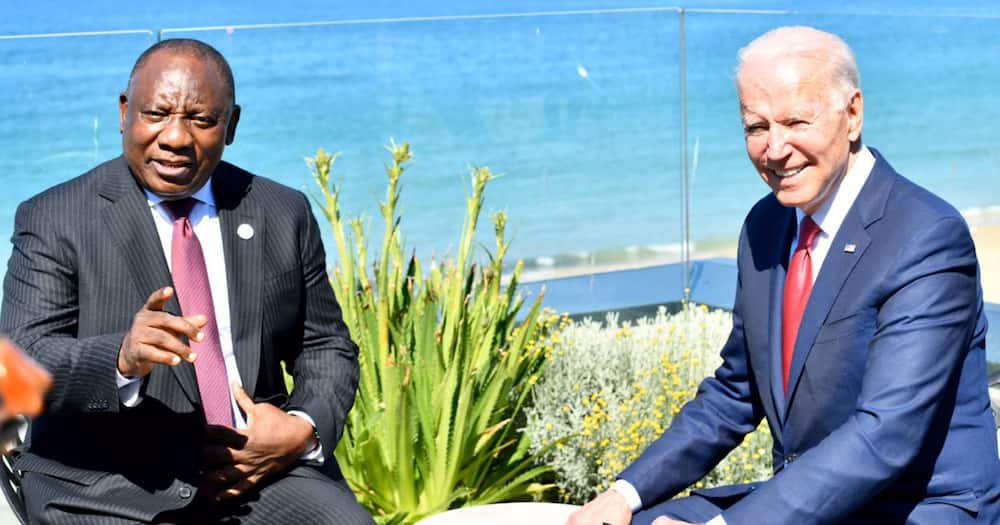 Ramaphosa, Joe Biden, United States of America, G7, Covid-19