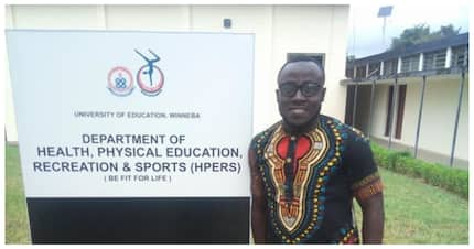 Meet Abel Manomey: The football player who chose education over money