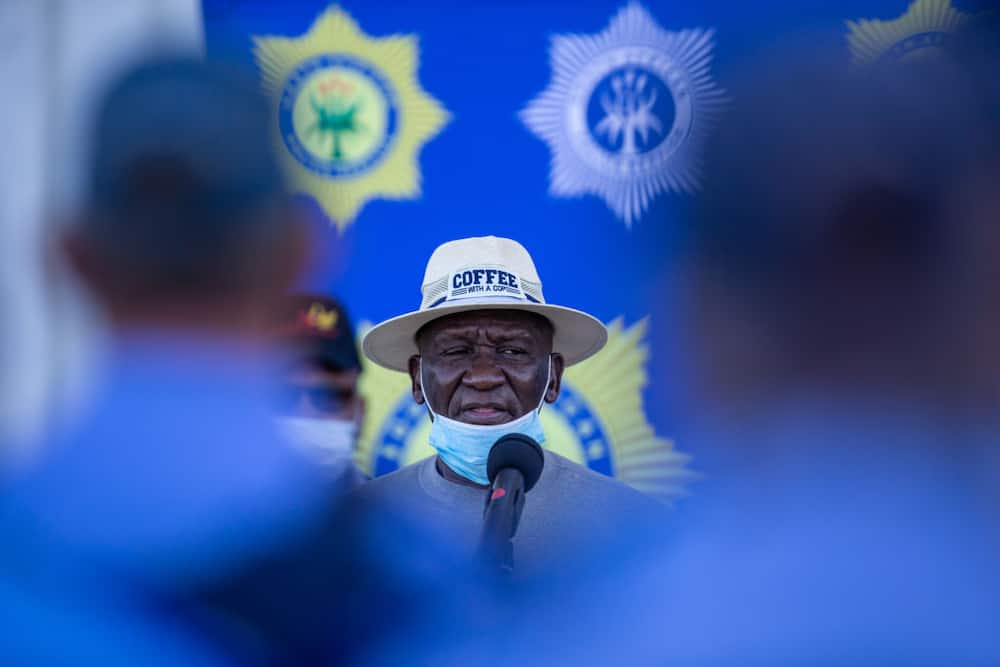 Bheki Cele happy with arrests made and social media is not impressed