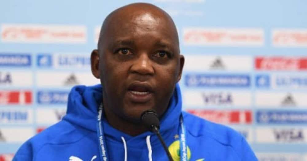 Pitso Mosimane, asks God for help, SA reacts