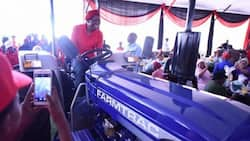 Tractor donated by EFF to community found outside popular party venue
