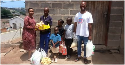 Durban volunteer has nothing but takes care of orphaned children