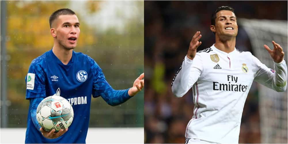 Schalke 04, Midfielder Mehmet-Can Aydin, Cristiano Ronaldo