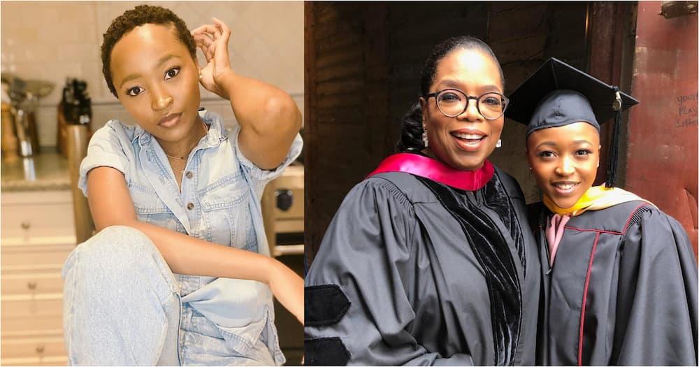 Thando Dlomo, Oprah Winfrey's 'daughter-girl', celebrates her birthday