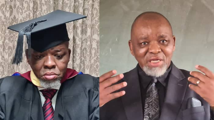 Gwede Mantashe went back to school, graduates with a MBA