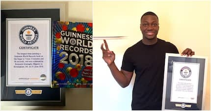 Man who broke world record by spinning Guinness book shares story