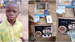 Young boy wows many as he builds ATM that dispenses cash after inserting card, video goes viral