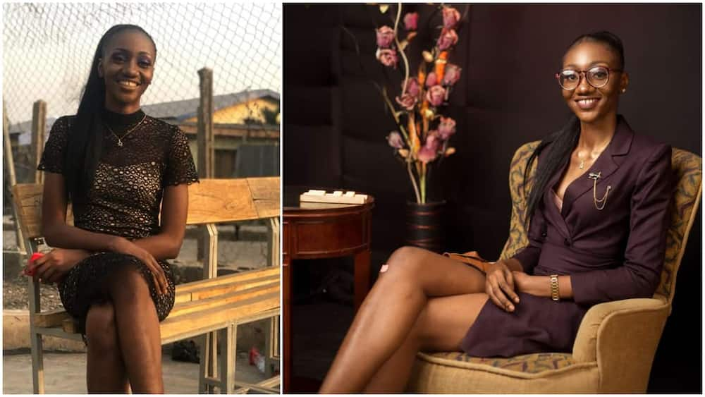 Lady becomes doctor, celebrates herself like a queen with great photoshoot