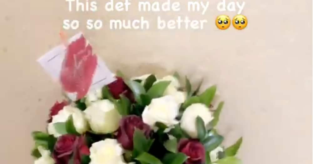 Couple goals: Jessica Nkosi swoons over TK Dlamini's gift