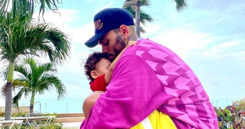 Chris Brown celebrates son's first birthday in loving post