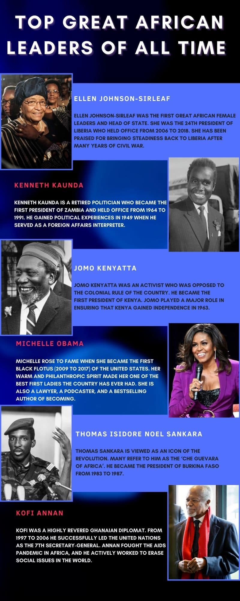great African leaders