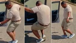 """""""Monate"""": Happy man shares video busting a move, Mzansi really thrilled"""