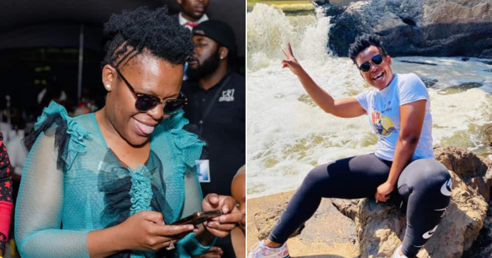 Zodwa Wabantu gets lush new hairdo and fans absolutely love it