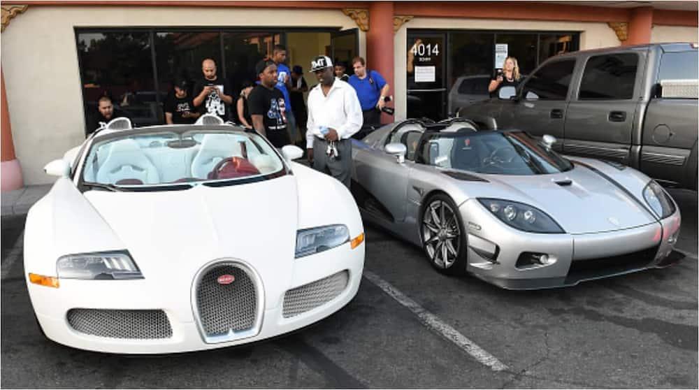 Floyd Mayweather Lavishes £700K on Nine Cars Including 29th Rolls Royce for Himself