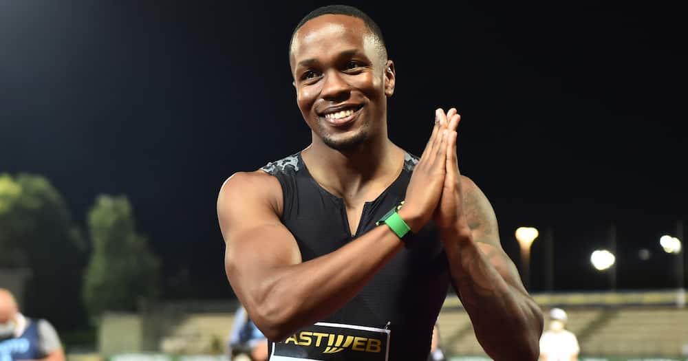 Akani Simbine, Tokyo Olympics 2020, 100m race