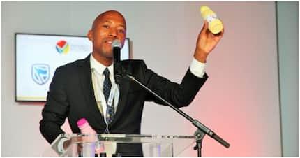 Entrepreneur Edward Molatela Kgarose makes yoghurt from sweet potatoes