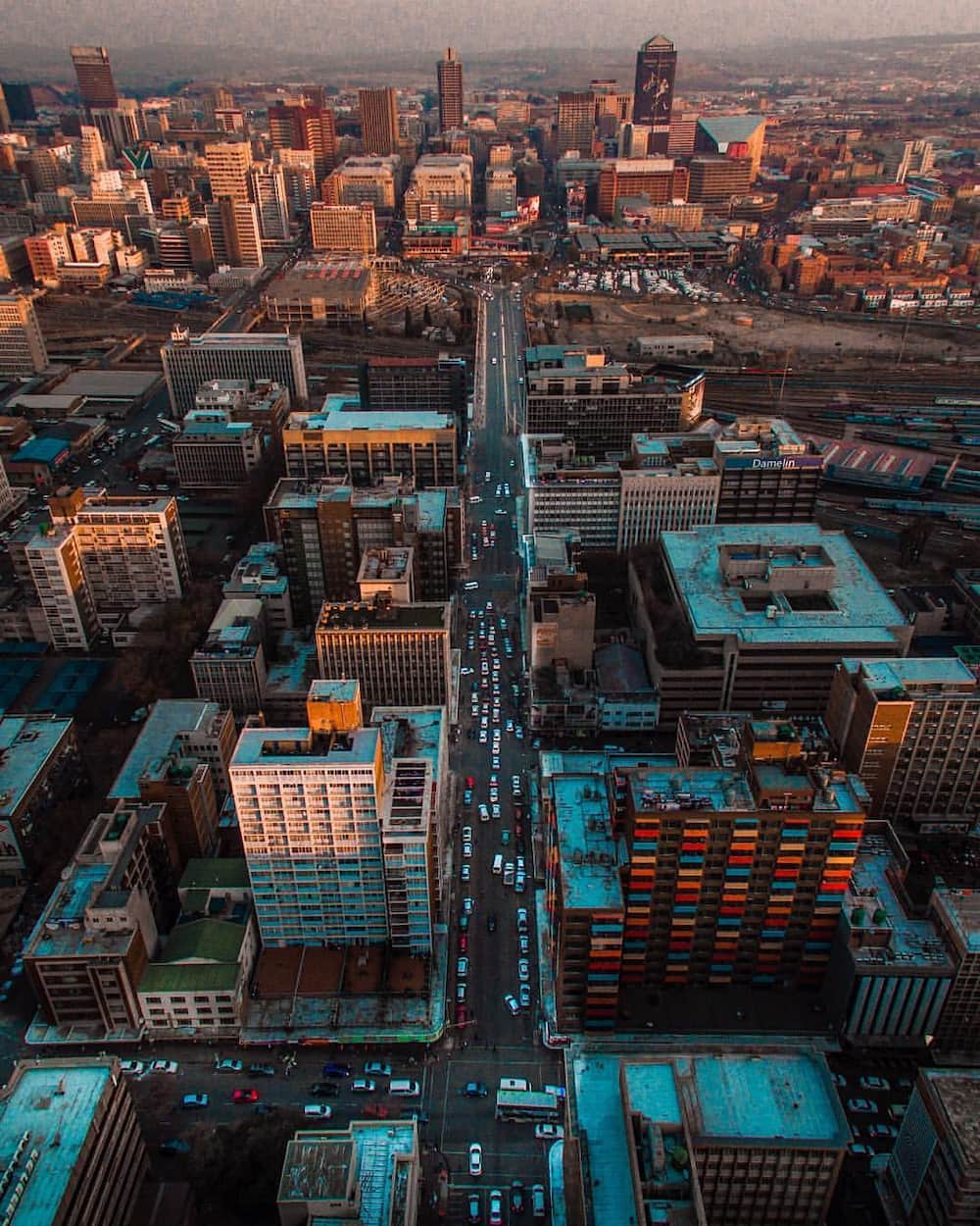 most developed cities in Africa