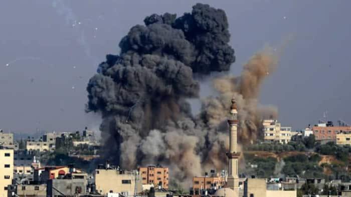 Israeli military strikes down building hosting media in Gaza shortly after warning
