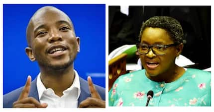 "Dlamini calls Maimane ""racist"", says DA is ""colonial, anti-African"""