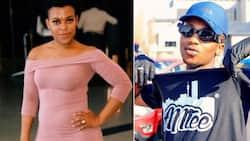 Ben 10 alert: Zodwa Wabantu vibes with young rapper Emtee