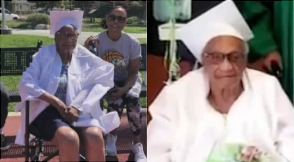 Vivian Fisher: Meet the 98-year-old great-grandmother who just graduated from high school
