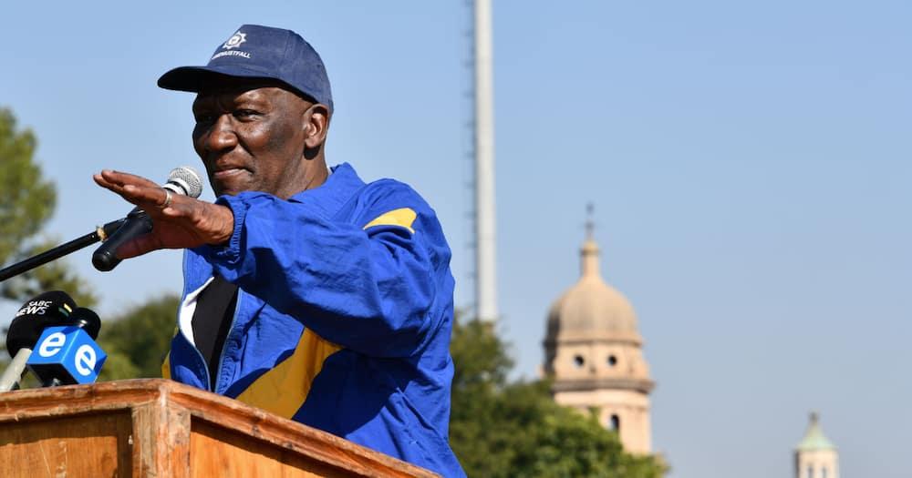 Minister Bheki Cele says farm murders not a 'priority' crime