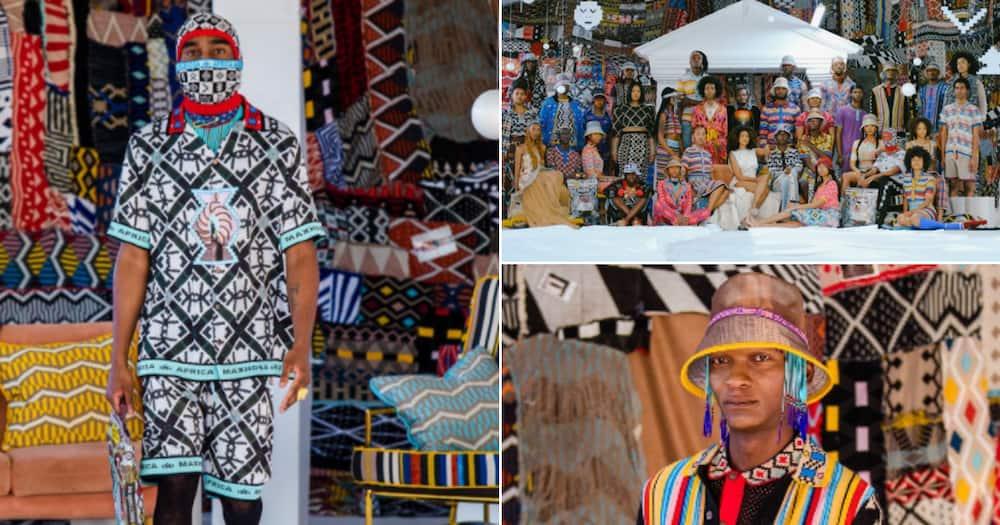 Mzansi celebs walk Laduma Ngxokolo's designs for New York Fashion Week