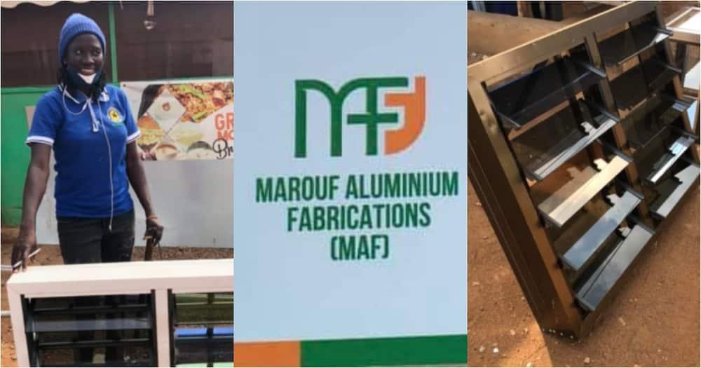 Iddrisu Kande: Meet the Ghanaian woman who runs her own aluminum fabrications business