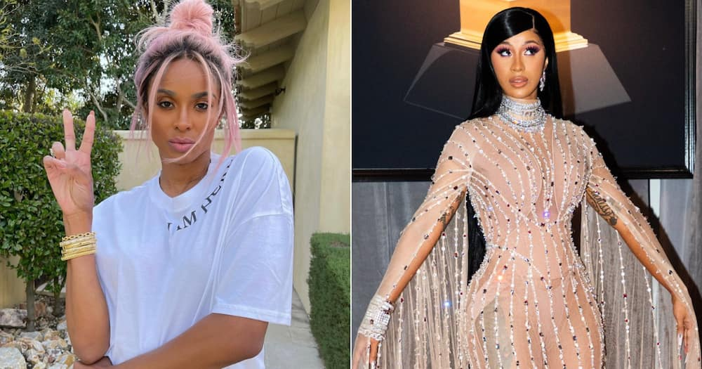 Ciara busts serious moves on luxurious boat to Cardi B's song 'Up'