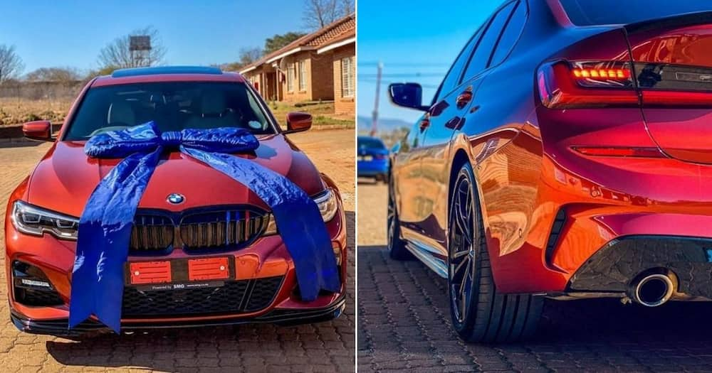 """Young man shows off his impressive new BMW online: """"Hard work pays"""""""