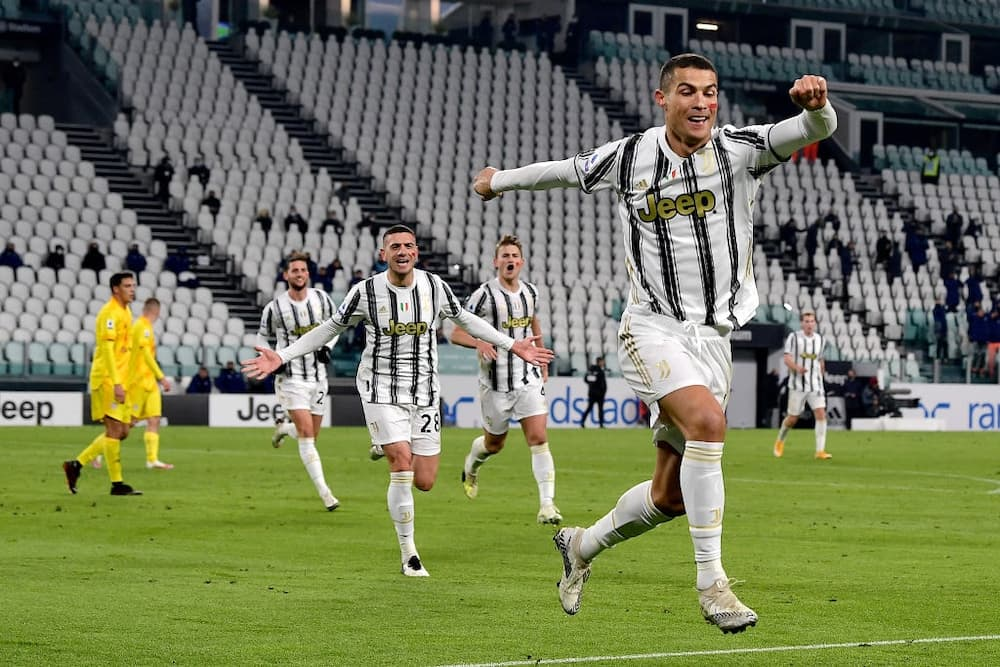 Juventus vs Cagliari: Ronaldo becomes football's 4th highest goal scorer after brace