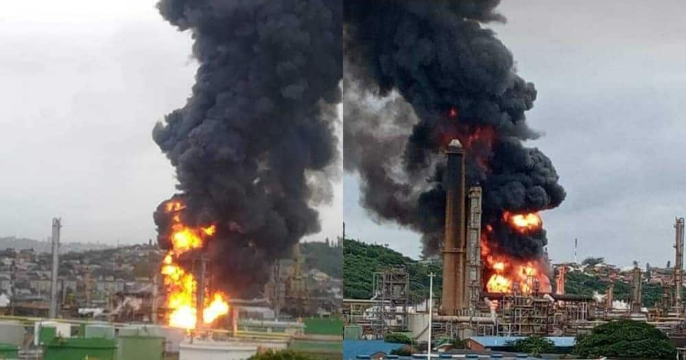 Durban refinery: Massive explosion heard from miles away
