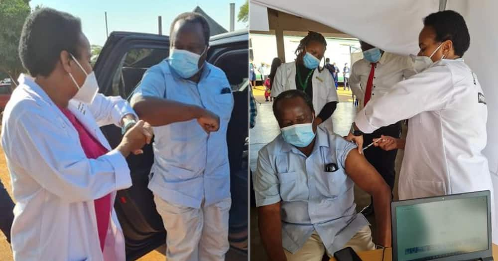 Finance Minister Tito Mboweni Gets His COVID Vaccine, Mzansi Share Reactions