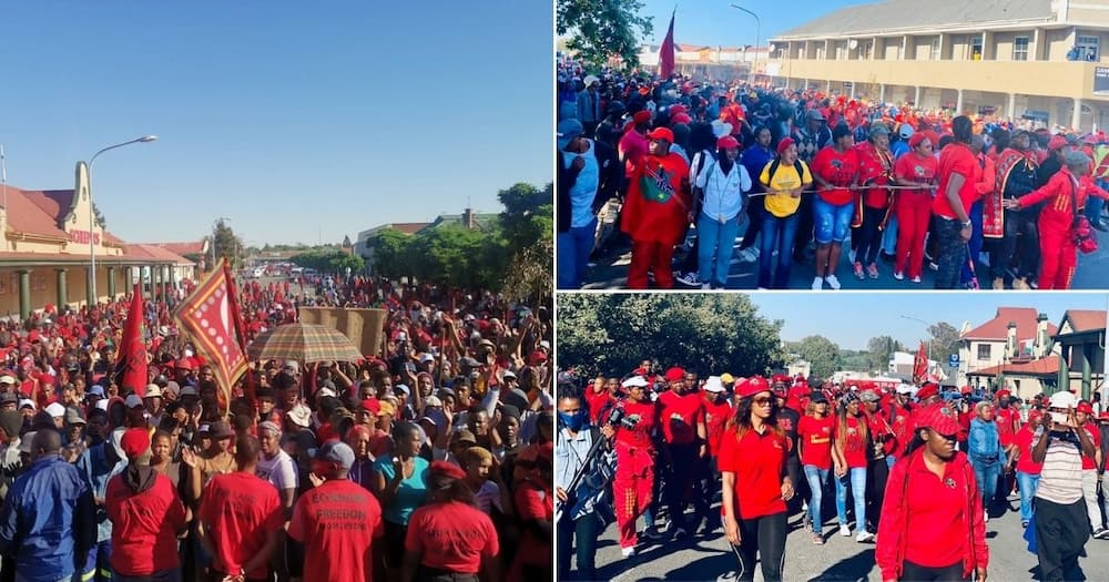 Senekal trial: Footage shows scores of EFF members showing up in FS