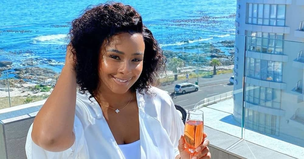 Boity Thulo proudly shares how her affirmations have come through
